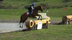 MATAMATA Horse Trial - cross country water jump 2016
