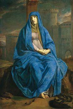 Philippe de Champaigne, la Vierge de douleur au pied de la croix