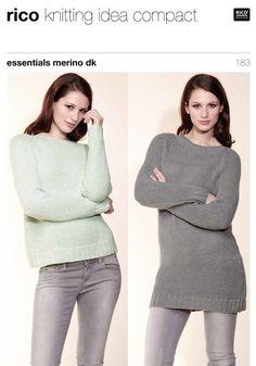 Sweaters in Rico Essentials Merino DK - 183