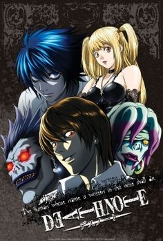 Poster Death Note Groupe 1 (52X38)