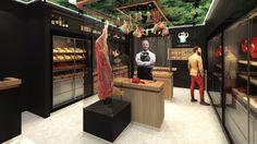 La viande de Gilles Lamiot mérite le meilleur. Tout comme les clients parisiens, surtout ceux du 7e arrondissement, où il vient d'ouvrir la dernière boucherie dont on cause. L'entrepreneur a commandé à l'architecte d'intérieur Fabrice Ausset