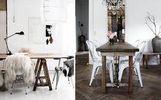 Decofilia te enseña cómo decorar el comedor en estilo Rustic Chic. Un estilo basado en el rústico tradicional pero con un aire más renovado y moderno.