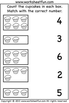 5 Alphabet Worksheets Matching Matching Worksheets For Kindergarten Kids Printable worksheets Number Worksheets Kindergarten, Pre K Worksheets, Numbers Preschool, Printable Preschool Worksheets, Preschool Learning, In Kindergarten, Matching Worksheets, Teaching, English Worksheets For Kids