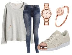 In LOVE with rose - Freizeitoutfit - stylefruits.de Neue Trends, Designs, Rose, Outfit, Polyvore, Fashion, Outfits, Moda, Pink