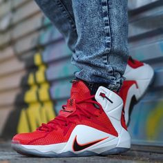 check out b8289 df6a9 Nike LeBron 12