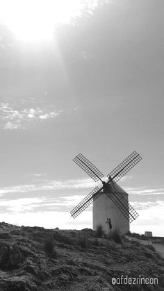 Cielos castellanos de sueños y gigantes. #Castilla