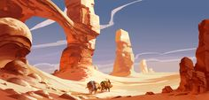Desert Caravan by Jastorama.deviantart.com