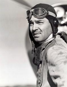 "Clark Gable in ""Test Pilot"" (1938)"