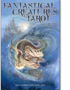 Fantastical Creatures Tarot  by Lisa Hunt & D.J. Conway : Buy Online, Worldwide Shipping #buyindiaglobal #buytarot #tarotonline