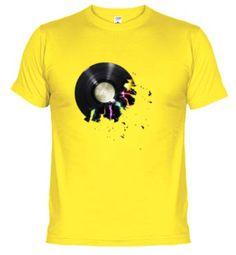 Camiseta Disco roto