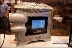 If you are a fan of Battlestar Galactica Custom Computers, Custom Pc, Pc Cases, Battlestar Galactica, Showcase Design, Build Your Own, Fan, Beautiful, Diy
