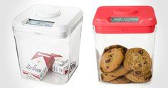 time locking kitchen container