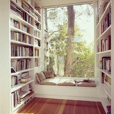 ¿Te gusta leer? Basta con 2m² para armar tu rincón de lectura. No tiene muchas complicaciones. ¡Anímate y hazlo!