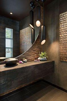 arquitetura do imóvel: Lavabo? Então capricha com decoração expressiva e personalizada para causar impacto!