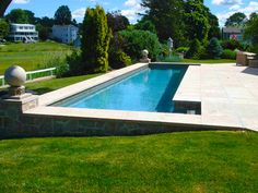 1000 images about pools water features on pinterest pool fountain rectangular pool and - Rectangle pool with water feature ...