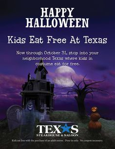 Saving 4 A Sunny Day: Kids Eat Free For Halloween
