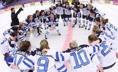 2015 Ice Hockey Women's World Championship bronze medals Team Finland