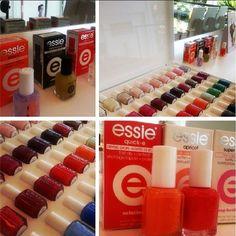 Lançamento do esmalte ESSIE agora no #mghairdesign