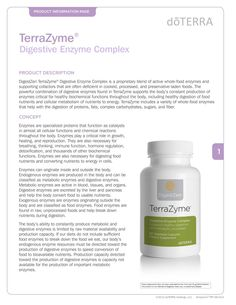 TerraZyme Digestive Enzyme Complex page1