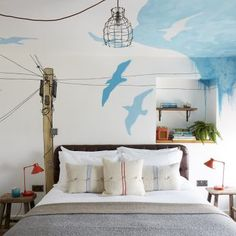 Tucked away in the old quarter of Penzance, Artist Residence Cornwall is a fun & friendly boutique hotel with 22 bedrooms and a cottage. Sofa Pillows, Floor Pillows, Cushions, Outdoor Furniture Covers, Best Boutique Hotels, Love Wall Art, King Size Pillows, Boy Room, Interior Design