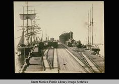 Long Wharf freight pier built by the Southern Pacific Railroad Company in 1893