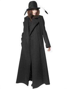 Ann Demeulemeester - Virgin Wool Cashmere Cloth Coat   FashionJug.com