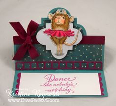 #cre8time to share a mouse and a dance with #stampendous #HouseMouseDesigns.