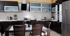 Vrooms: Brown Kitchen Furniture