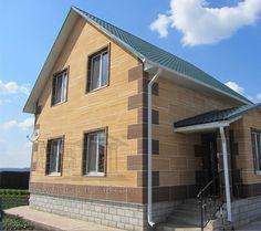 Утепление дома в Белгороде от компании Гранд-Фасад http://grandfasad.com/produktsiya/termofasadyi/izdeliya/gibkiy-mramor.html