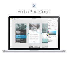 Adobe dévoile le projet Comet, un outil d'UX-design qui s'annonce très intéressant !   Le projet Comet, qui sera disponible en 2016, est un produit qui vous permettra de créer vos wireframes, maquettes graphiques, prototypes, le tout avec une live preview de cotre travail sur smartphone, tablette et desktop. Un vrai produit à destination des UI et UX designers !