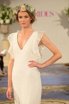 Beautiful bridal looks from the @BridesMagazine Designer Catwalk #wedding show