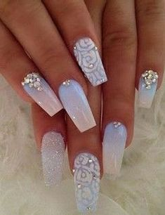 Our favorite nail designs, tips and inspiration for women of every age! Great gallery of unique nail art designs of 2017 for any season and reason. Find the newest nail art designs, trends & nail colors below. Cute Acrylic Nail Designs, Simple Nail Art Designs, Cute Acrylic Nails, Easy Nail Art, Cute Nails, Gel Nails, Coffin Nails, Dark Nails, Maroon Nails