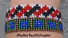 This tutorial from PotomacBeads shows you how to make our 'Crystal Lace' bracelet using Miyuki seed beads, and your choice of other beads or crystals (can ac. Bead Loom Patterns, Bracelet Patterns, Beading Patterns, Beaded Bracelets Tutorial, Bead Loom Bracelets, Rosary Bracelet, Macrame Bracelets, Diamond Bracelets, Fusion Beads