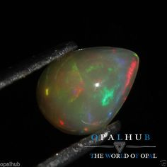 0.80 Cts 100% Natural Ethiopian Welo Fire Opal Cabochon Stone Play Color 4792