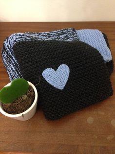 Copertina primigiorni, baby knitted