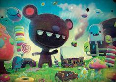 Les superbes illustrations colorées de pokedstudio