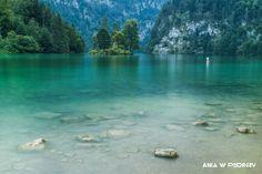 König Lake, Bavaria, Germany. ANIA W PODRÓŻY travel blog and photography