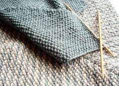 Knitting   Work in Progress: Intermittent Progress