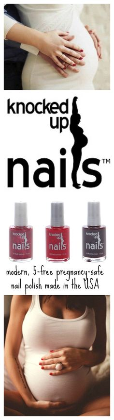 have you heard of Knocked Up Nails? 5-free nail polish safe for pregnancy. gluten-free, vegan, cruelty-free and made in the USA. modern and chic hues.