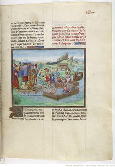 « Histoires du grant Alexandre de Macedone, » par QUINTE-CURCE , traduction française de VASQUE DE LUCENA , faite « ou chasteau de Nieppe l'an mil IIIIe LXIII »