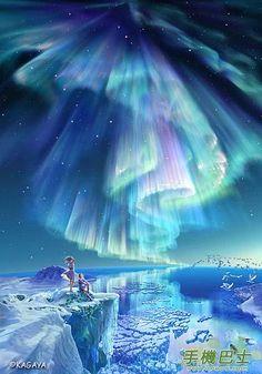 hoshinavi's northern lights