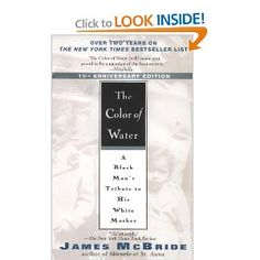 The Color of Water: A Black Man's Tribute to His White Mother by James McBride - The Greatest Nonfiction Book of All Time Reading Lists, Book Lists, Reading 2014, Reading Room, Love Book, This Book, Books To Read, My Books, National Book Award