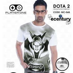 PLAYER.ONE DOTA 2 Gaming T-Shirt MC048 - INVOKER