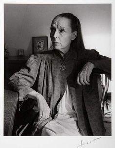 HORST P. HORST (1906-1999). Portrait de Louise Brooks (1906-1985), années 1940