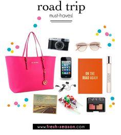 Road Trip Must-Haves   Fresh-Season.com