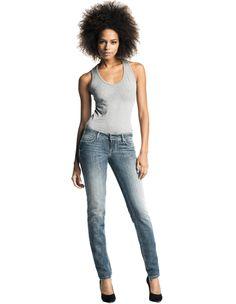 #ShapeUp - Slim leg, low waist, perfect fit! #Salsa