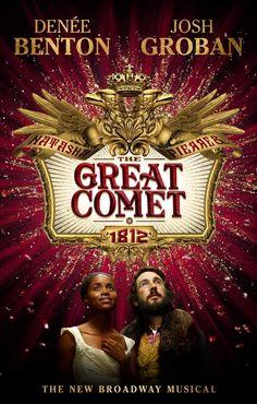 'Natasha, Pierre & The Great Comet Of 1812' stars multi-platinum recording artist Josh Groban in his Broadway debut. #Broadway