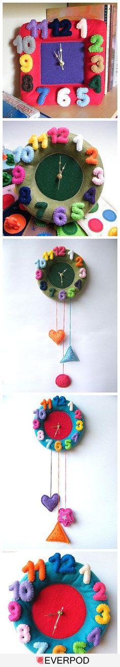 Artesanatos para Relógio de Parede
