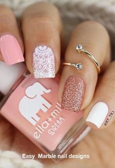 Nail Art Designs To Wear In The Office - My Daily Time - Beauty, health, fa. -Chic Nail Art Designs To Wear In The Office - My Daily Time - Beauty, health, fa. Chic Nail Art, Chic Nails, Nail Art Diy, Short Nail Designs, Nail Designs Spring, Simple Nail Designs, Nail Design For Short Nails, Nails Design, Designs For Nails