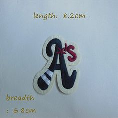 FairyTeller 1Pcs Sell High Quality Letter Patch Hot Melt Adhesive Applique Embroidery Patch Diy Decoration Accessory C101-C380 *** You can find out more details at the link of the image.
